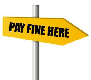 pay fine here